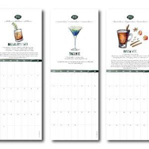 watercolour calendar