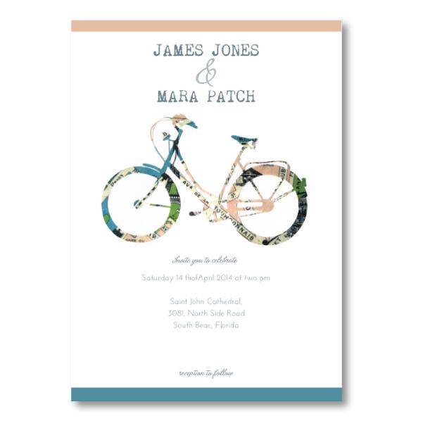 paper cut wedding invitation